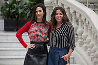 U.S. actress Jennifer Connelly (L) and Peruvian film director Claudia Llosa pose for the photographers during `No corras, vuela&acute; (Aloft) film presentation in Madrid, Spain. January 21, 2015. (ALTERPHOTOS/Victor Blanco) /NortePhoto<br />
