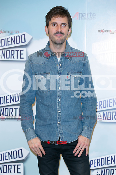 "Julian Lopez attend the ""Perdiendo El Norte"" Movie Presentation at Intercontinental Hotel, Madrid,  Spain. March 03, 2015.(ALTERPHOTOS/)Carlos Dafonte) /NORTEphoto.com"