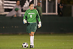 07 November 2008: Virginia goalkeeper Celeste Miles. The University of Virginia and Virginia Tech played to a 1-1 tie after 2 overtimes at WakeMed Stadium at WakeMed Soccer Park in Cary, NC in a women's ACC tournament semifinal game.  Virginia Tech advanced to the final on penalty kicks, 2-1.