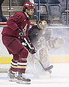 Brian Boyle, Adam Reasoner - The Boston College Eagles practiced at the Bradley Center in Milwaukee, Wisconsin, on April 7, 2006 in preparation for the 2006 Frozen Four Final game vs. the University of Wisconsin on April 8, 2006.