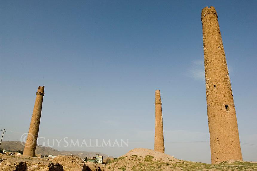 Minarets at Musalla, Herat Afghanistan