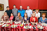 Joanne Lawlor from Ardfert celebrating her 30th birthday on Friday in Cassisys.<br /> Seated l to r: Aoife McCarthy, Trease Brick, Joanne Lawlor, Jane Doyle, Ruth Carey and Kitty Nolan.<br /> Back l to r: James Foley, Paul Meehan, Stephen O'Brien, Maurice O'Driscoll and Mary O'Sullivan.