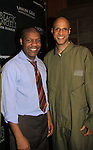 Thaddeus Daniels & Thom Scott - Layon Gray's Black Angels Over Tuskegee goes into its 4th year as they celebrate their 3rd Anniversary on March 2, 2013 at the Actors Temple Theatre, New York City, New York.  (Photo by Sue Coflin/Max Photos)
