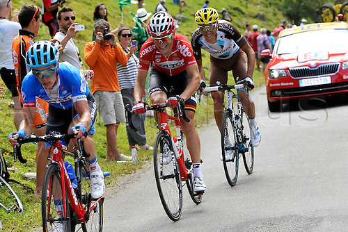 22.07.2014. Carcassonne to Bagnères-de-Luchon, France. Tour de France cycling championship, stage 16.   GALLOPIN Tony (FRA - Lotto Belisol)