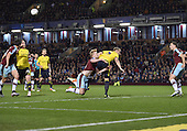 19/04/2016 Sky Bet League Championship  Burnley v Middlesbrough<br /> Michael Keane blocked