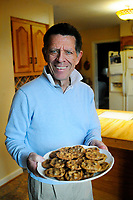 George Rowand and his famous cookies