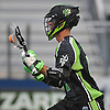 Will Manny #4 of the New York Lizards looks to make a play during a Major League Lacrosse game against the Boston Cannons at Shuart Stadium in Hempstead, NY on Thursday, July 20, 2017.