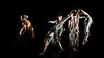 "Candoco Dance Company. ""Set and Reset/Reset"". Part of 20th Anniversary triple bill. Cast: Darren Anderson, Elinor Baker, Dan Daw, Mirjam Gurtner, Annie Hanauer, Victoria Malin, Chris Owen"