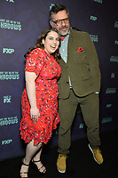 "NEW YORK - MARCH 19: Creator/Executive Producer/Writer/Director Jemaine Clement and Beanie Feldstein attend the premiere event for FX Networks ""What We Do In The Shadows"" at The Metrograph on March 19, 2019 in New York City. (Photo by Anthony Behar/FX/PictureGroup)"