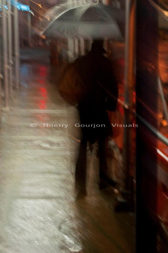 The Road to Rain - Soho, NYC - 12.24.2008