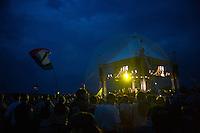 The fantastic Closing Ceremony of the 22nd World Scout Jamboree. Heavy rain and a gigantic fireworks. Photo: Jonas Elmqvist