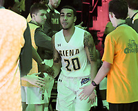 Siena defeats Saint Peter's 59-57 in triple overtime in a MAAC game on January 29, 2018 at the Times Union Center in Albany, New York.  (Bob Mayberger/Eclipse Sportswire)