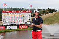 Gregory Bourdy (FRA) is the winner of the 2013 ISPS Handa Wales Open from the Celtic Manor Resort, Newport, Wales. Picture:  David Lloyd / www.golffile.ie