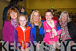 Enjoying the Comhaltas Ceili Concert which took place in the Halla Inse Ban, Templeglantine on Sunday evening were L-R : Siobhan and Calli Casey, Monagae, Amanda and Caitlyn Danaher and Nancy McGovern Newcastle West.