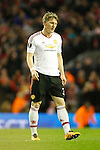 Bastian Schweinsteiger of Manchester United dejected during the UEFA Europa League match at Anfield. Photo credit should read: Philip Oldham/Sportimage
