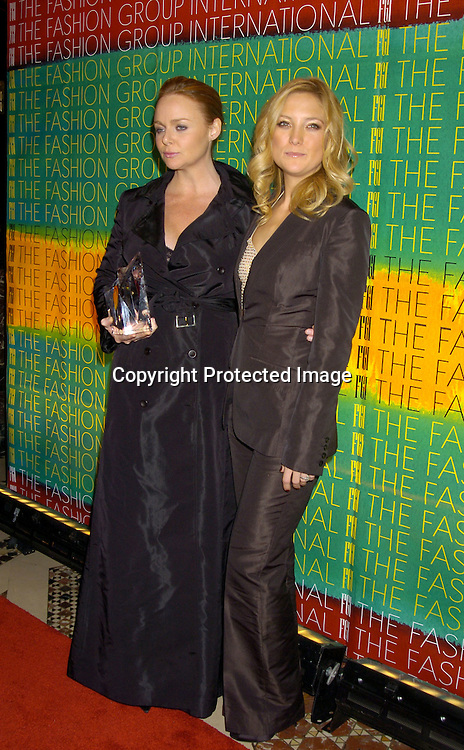Stella McCartney and Kate Hudson ..at the Fashion Group International's 21st Annual Night of ..Stars on October 28, 2004 at Cipriani 42nd Street in New York City. ..Photo by Robin Platzer, Twin Images