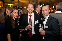 Lucinda Hancock of FHP Property Consultants, Tom Burton of Innes England and Attilio Leccisotti