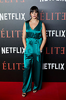 Cristina Abad attends to 'Elite' premiere at Museo Reina Sofia in Madrid, Spain. October 02, 2018. (ALTERPHOTOS/A. Perez Meca) /NortePhoto.com NORTEPHOTOMEXICO