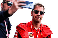 #05 Sebastian Vettel, Scuderia Ferrari. Italian GP, Monza 5-8 September 2019<br /> Monza 07/09/2019 GP Italia <br /> Formula 1 Championship 2019 <br /> Photo Federico Basile / Insidefoto