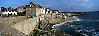 Europe/France/Bretagne/35/Ille-et-Vilaine/Saint-Malo : Les remparts de la Ville Close
