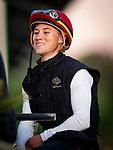 OCT 24: Drayden Van Dyke at Santa Anita Park in Arcadia, California on Oct 24, 2019. Evers/Eclipse Sportswire/Breeders' Cup