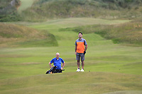 Gary O'Flaherty (Cork) on the 14th fairway during Round 3 of the East of Ireland Amateur Open Championship 2018 at Co. Louth Golf Club, Baltray, Co. Louth on Monday 4th June 2018.<br /> Picture:  Thos Caffrey / Golffile<br /> <br /> All photo usage must carry mandatory copyright credit (&copy; Golffile | Thos Caffrey