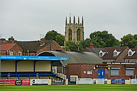 A general view of Gainsborough Trinity's Martin &amp; Co Arena<br /> <br /> Photographer Andrew Vaughan/CameraSport<br /> <br /> Pre-Season Friendly - Gainsborough Trinity v Lincoln City - Saturday 15th July 2017 - The Gainsborough Martin &amp; Co Arena - Gainsborough<br /> <br /> World Copyright &copy; 2017 CameraSport. All rights reserved. 43 Linden Ave. Countesthorpe. Leicester. England. LE8 5PG - Tel: +44 (0) 116 277 4147 - admin@camerasport.com - www.camerasport.com