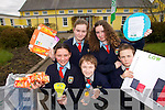 GREEN TEAM: Members of the Ballyhahill National School Green Flag Committee in West Limerick who were presented with their second Green Flag on Friday last..Front L/r. Shannon Re, Brendan Stack, Jordan Sharp..Back L/r. Sarah Cregan, Shannon Martin.