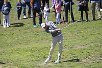 Maximilian Kieffer (GER) on the 1st fairway during Round 3 of the Open de Espana 2018 at Centro Nacional de Golf on Saturday 14th April 2018.<br /> Picture:  Thos Caffrey / www.golffile.ie<br /> <br /> All photo usage must carry mandatory copyright credit (&copy; Golffile | Thos Caffrey)
