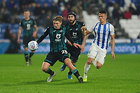 George Byers of Swansea City in action during the Sky Bet Championship match between Huddersfield Town and Swansea City at The John Smith's Stadium in Huddersfield, England, UK. Tuesday 26 November 2019