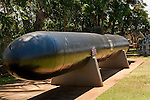 Japanese suicide torpedo submarine, Pearl Harbor, Oahu, Hawaii