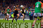 Wayne Guthrie Austin Stacks in action against  Mid Kerry in the Kerry Senior County Football Final at Fitzgerald Stadium on Sunday.