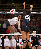 Stanford Volleyball W vs Oregon State, November 3, 2017
