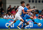 HKFA U-18 vs Hong Kong Football Club during day two of the HKFC Citibank Soccer Sevens 2015 on May 30, 2015 at the Hong Kong Football Club in Hong Kong, China. Photo by Xaume Olleros / Power Sport Images