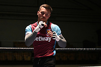 Boxer Sam McNess during an Open Workout at York Hall on 17th May 2017