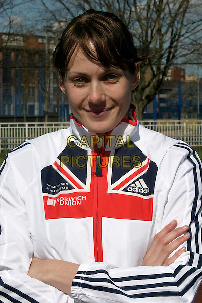 KELLY SOUTHERTON.Photocall at Mile End Stadium, London, UK..Norwich Union announces that it is to extend its commitment to athletics until 2012 in the largest UK sport sponsorship outside football worth nearly GBP50 million to the sport of athletics over the next six years..April 5th, 2006.Ref: AH.headshot portrait .www.capitalpictures.com.sales@capitalpictures.com.© Capital Pictures.