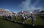 The Nevada Marching Band performs before an NCAA college football game in Reno, Nev., on Saturday, Oct. 26, 2013.<br />