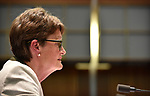 CBA Chairman Catherine Livingstone appears before the House of Representatives Standing Committee on Economics at Parliament House in Canberra, Australia, on Friday, October 20, 2017.  Photographer: Mark Graham/Bloomberg