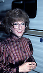 Dustin Hoffman on the set filming TOOTSIE on June 9, 1982 in New York City.