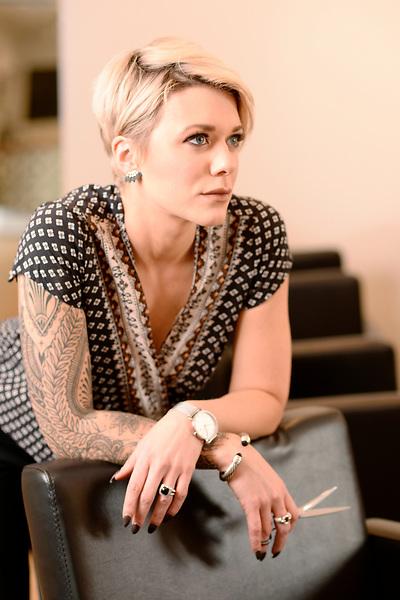 Ashley Gray of Ash Salon in Haymarket.