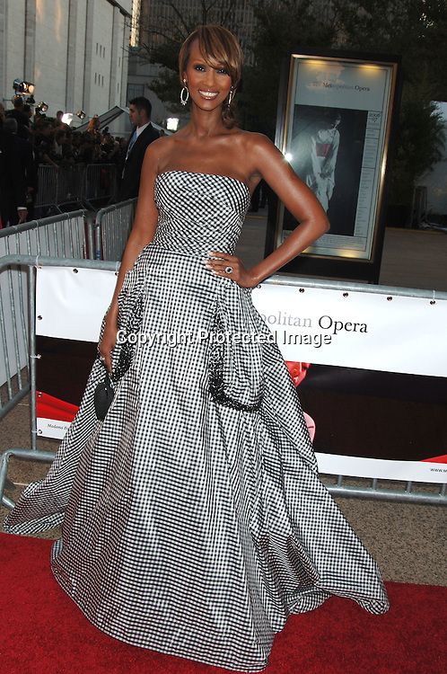 Iman..arriving at The Opening of The Metropolitan Opera's 2006-2007 Season on September 25, 2006 in the Lincoln Center Plaza. ..Robin Platzer, Twin Images..