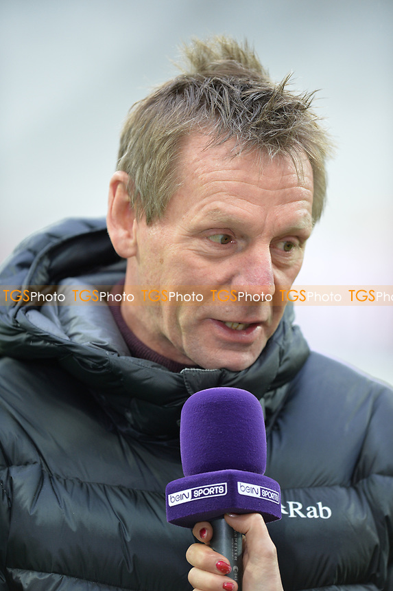 Stuart Pearce during West Ham United vs Arsenal, Premier League Football at The London Stadium on 12th January 2019