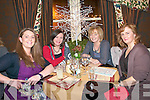 Staff of Listowel Convent Primaty School enjoying their Christmas party at the Horseshoe Bar & Restaurant, Listowel on Friday night last. L-R : Tina Enright, Liz Quinn, Mary Hennessy & Catherine Munnelly.