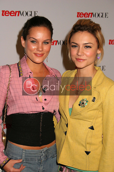 Olivia Allen and Samaire Armstrong