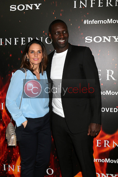 "Omar Sy<br /> at the ""Inferno"" Los Angeles Premiere, DGA, Los Angeles, CA 10-25-16<br /> David Edwards/DailyCeleb.com 818-249-4998"