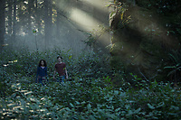 A Wrinkle in Time (2018) <br /> Levi Miller &amp; Storm Reid<br /> *Filmstill - Editorial Use Only*<br /> CAP/KFS<br /> Image supplied by Capital Pictures