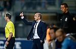 Nederland, Almelo, 29 augustus 2015<br /> Eredivisie<br /> Seizoen 2015-2016<br /> Heracles Almelo-FC Twente<br /> Alfred Schreuder, trainer-coach van FC Twente steekt zijn duim op