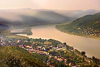 Banube Bend at Visegrad , Hungary