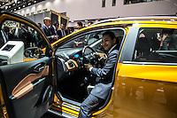 SAO PAULO, SP - 10.11.2016 - SAL&Atilde;O-AUTOM&Oacute;VEL - O Ministro da Ind&uacute;stria, Com&eacute;rcio Exterior e Servi&ccedil;os, Marcos Pereira, <br /> participa da cerim&ocirc;nia de abertura do Sal&atilde;o Internacional do Autom&oacute;vel em S&atilde;o Paulo no expo Imigrantes na regi&atilde;o sul da <br /> cidade de S&atilde;o Paulo  nesta quinta-feira,10. Junto com o ministro outras autoridades tamb&eacute;m marcaram presen&ccedil;a, como  Paulo <br /> Hartung, governador do Estado do Espirito Santos e o governador de S&atilde;o Paulo em exerc&iacute;cio, M&aacute;rcio Fran&ccedil;a.(Foto: Fabricio Bomjardim / Brazil Photo Press)