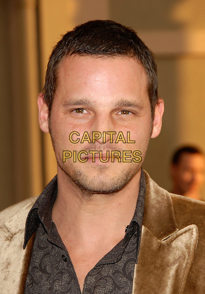 JUSTIN CHAMBERS.The 34th Annual American Music Awards held at The Shrine Auditorium in Los Angeles, California, USA. - Arrivals.November 21st, 2006.headshot portrait stubble.CAP/DVS.©Debbie VanStory/Capital Pictures